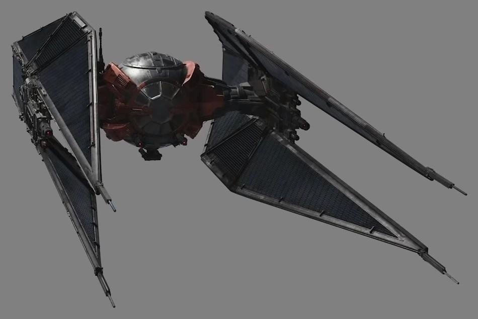 Sienar-Jaemus Fleet Systems TIE/wi modified interceptor