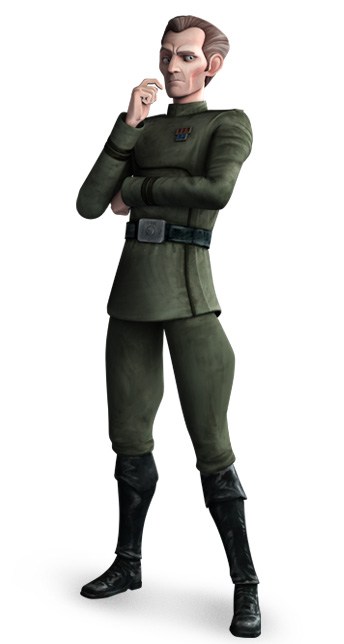 Captain Wilhuff Tarkin (as of The Clone Wars)