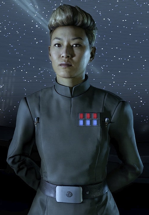 Captain Terisa Kerrill (Human Imperial Officer)