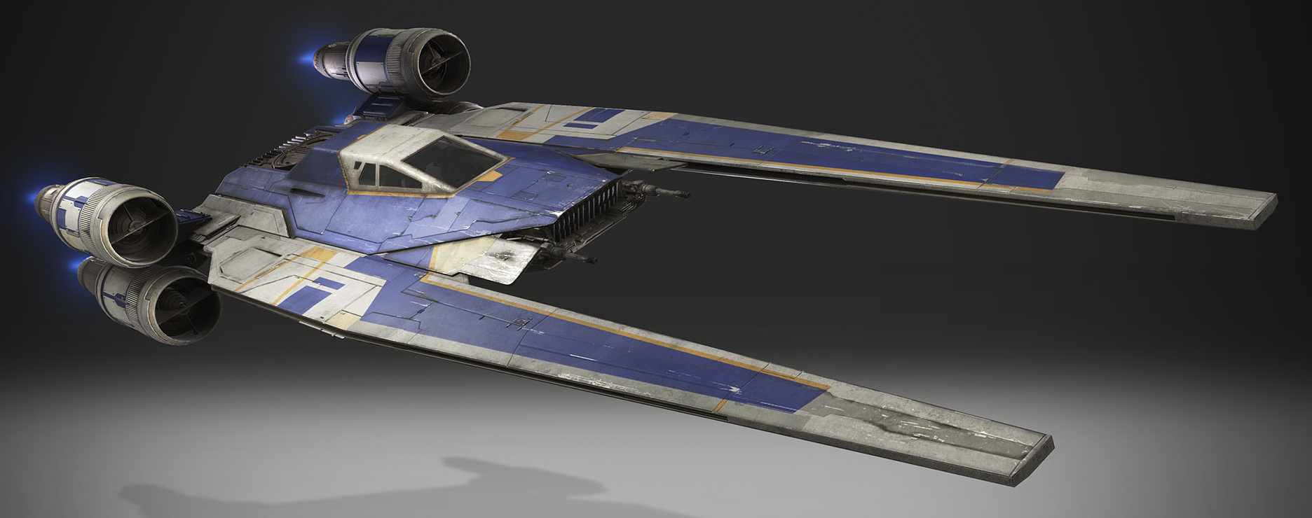 Incom Corporation UT-60D U-wing starfighter/support craft