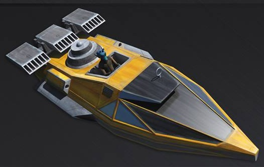 SoroSuub Corporation V-35 Courier Speeder