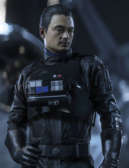 Captain Varko Grey (Human Tie Fighter Pilot)