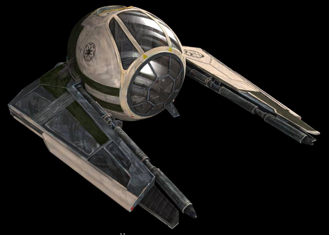 Yodas Starfighter {Modified Kuat Systems Engineering Eta-2 Actis light interceptor}