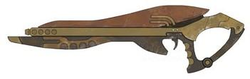 Zygerrian blaster rifle