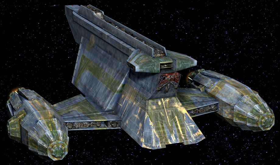Corellian Engineering Corp YV-865 Aurore-class freighter