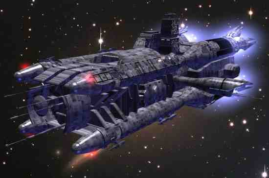 Earthforce Olympus Corvette