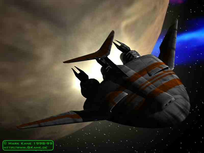 Earth Alliance Kestrel Shuttle
