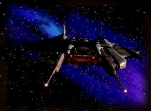 Centauri Republic Battlecruiser