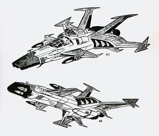 Cosmowing Heavy Space Fighter/Bomber