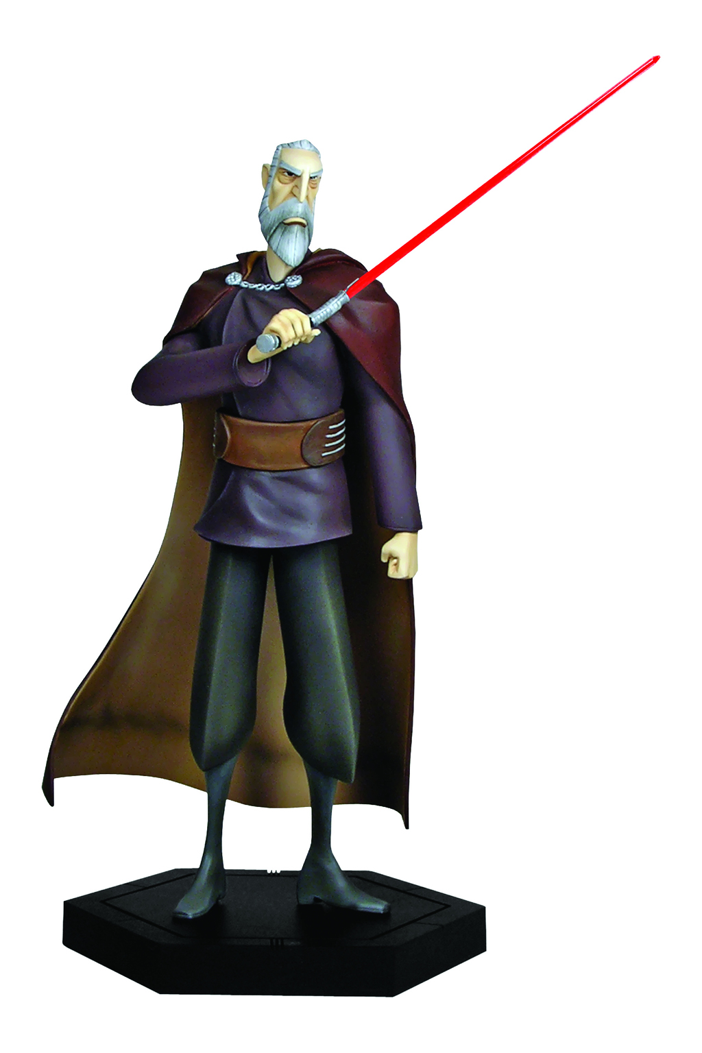 Count Dooku / Darth Tyranus (as of The Clone Wars)