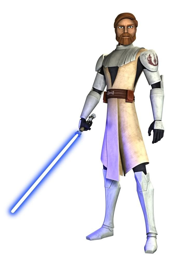 Obi-Wan Kenobi (as of The Clone Wars)