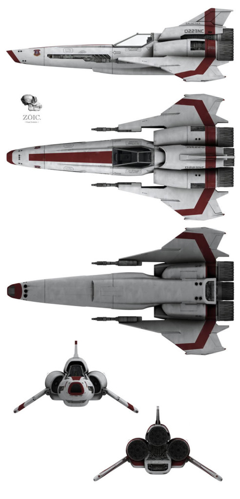 Colonial Viper MkII (Re-imagined Series)