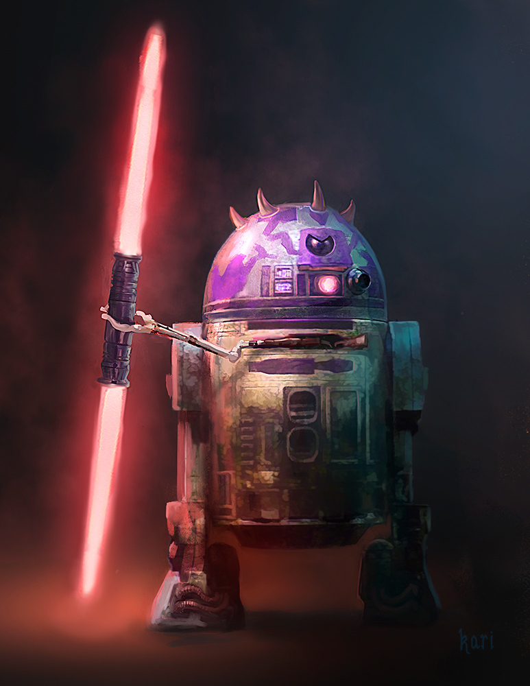 R2-H8 (Darth Hate) {AstroMech Sith Lord}