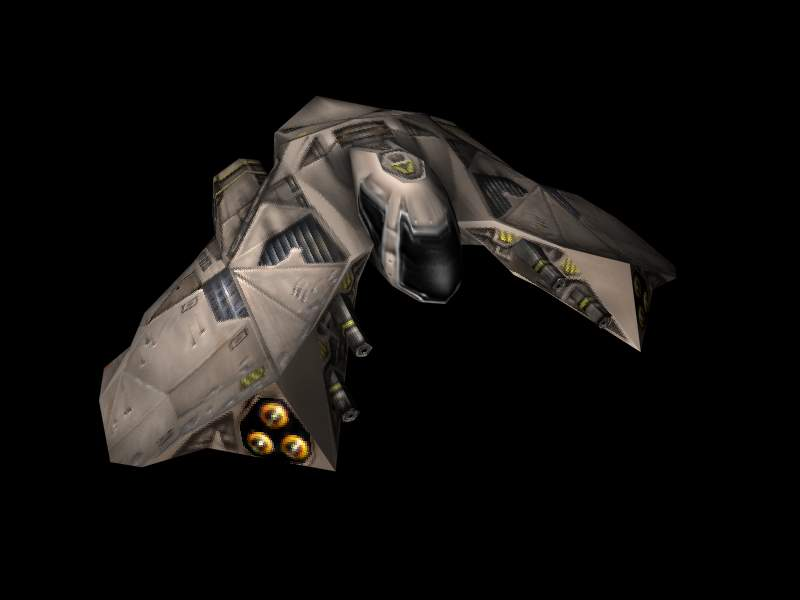 Galactic Terran Alliance Ulysses Class Fighter
