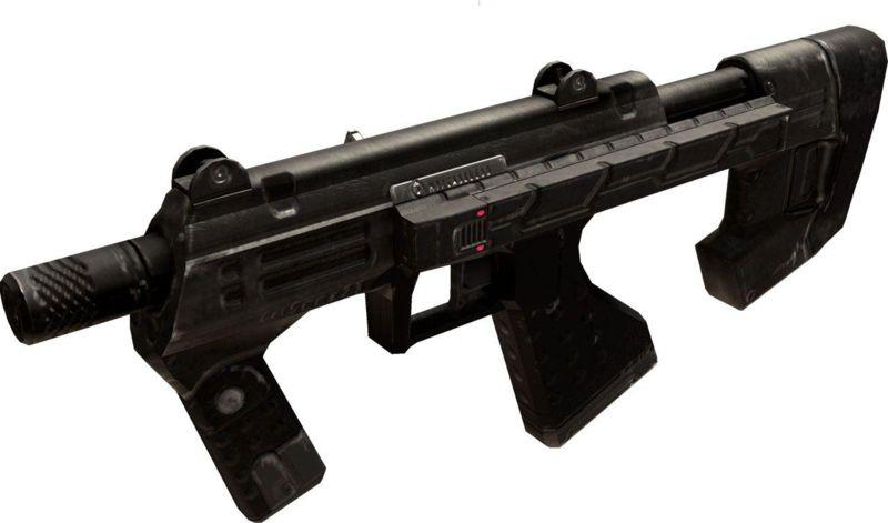 Model M7 Caseless Submachine Gun