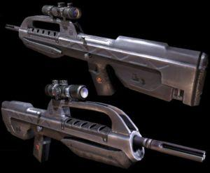 Model BR55 Battle Rifle