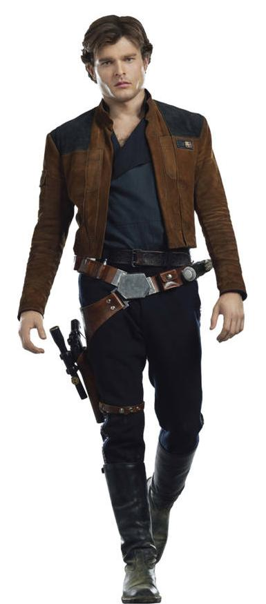 Han Solo (as of Solo: A Star Wars Story)