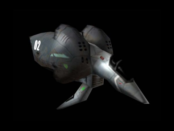 Galactic Terran Alliance Hercules II Class Fighter