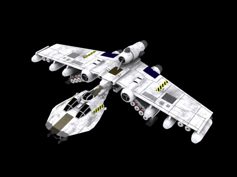Koensayr Manufacturing BTL-S8 K-wing Assault Starfighter