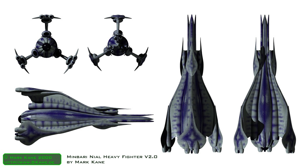 Minbari Federation Fighter