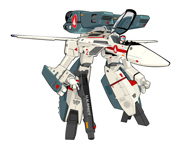 Robotech Defense Forces Super Veritech Fighter.