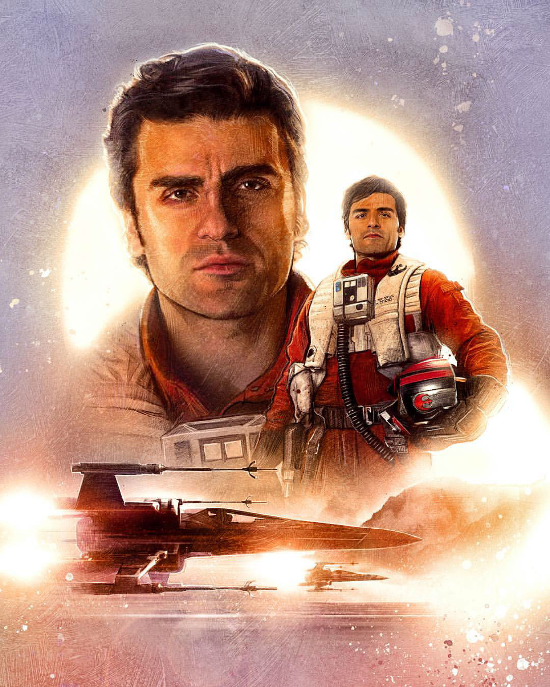 Poe Dameron (As of The Last Jedi)