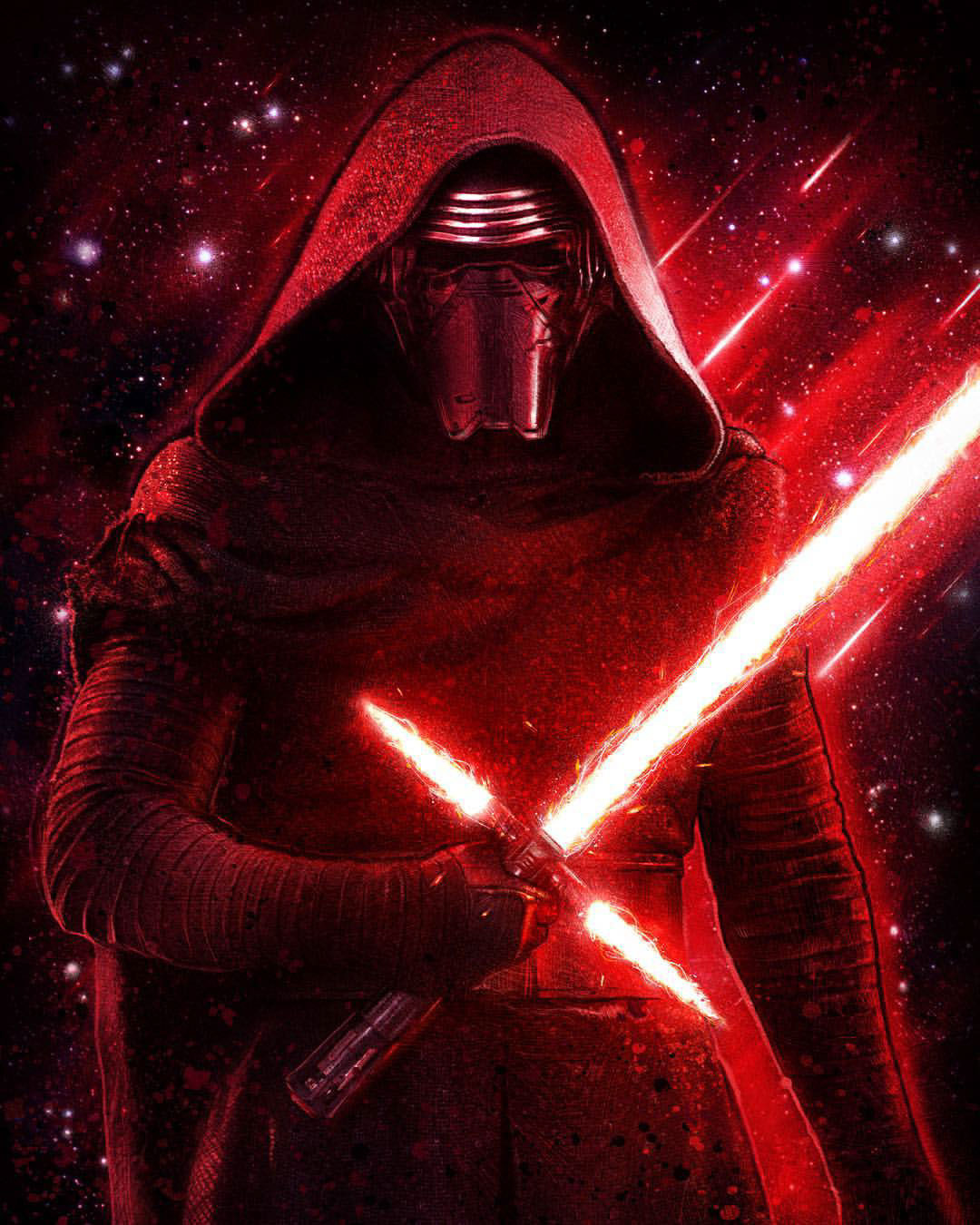 Kylo Ren (As of The Last Jedi)