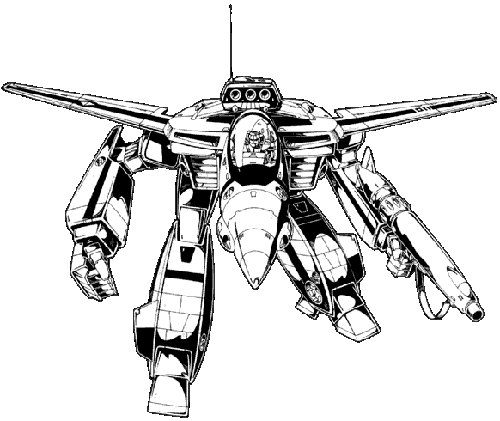 Robotech Defense Forces Veritech Fighter