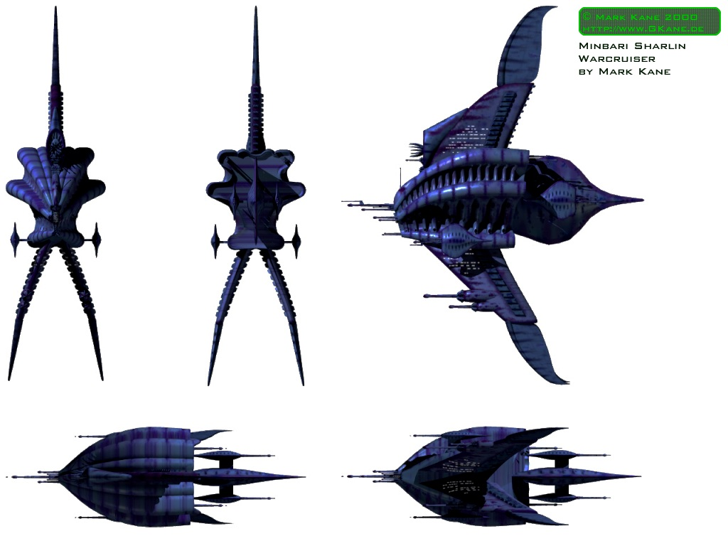 Minbari Federation War Cruiser