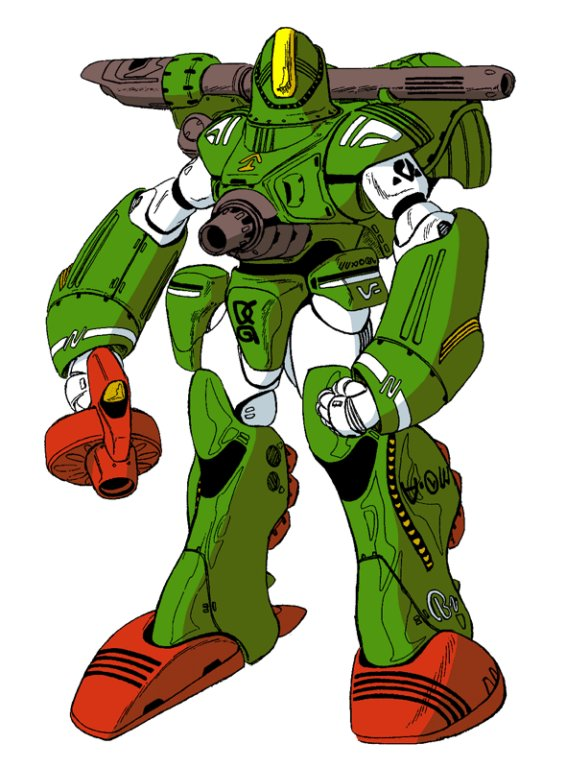 Zentraedi Male Power Armor (MPA)